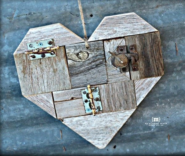 DIY Scrap Wood Hearts