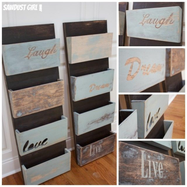 9 Wall Storage Ideas That You Need To Try: Hanging Organizer DIY Project