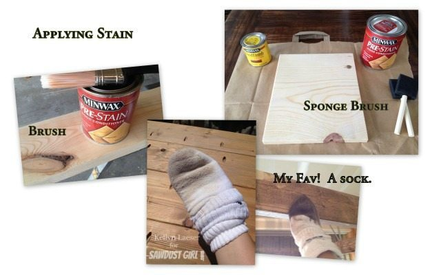 How to Stain like a Pro