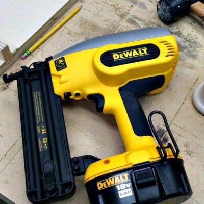 Cordless DeWalt Nail Gun – 18 Volt Finish Nailer