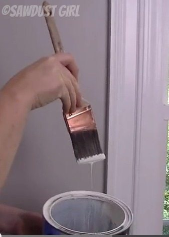 How to cut in paint