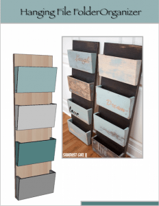 Hanging Organizer DIY Project – Dremel Fortiflex review