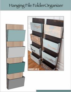 Hanging Organizer DIY Project – Dremel Fortiflex review