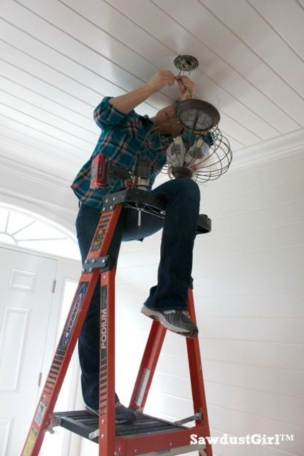 How to change a light