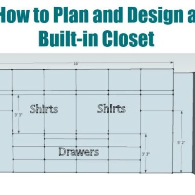 How to plan and design a walk in closet