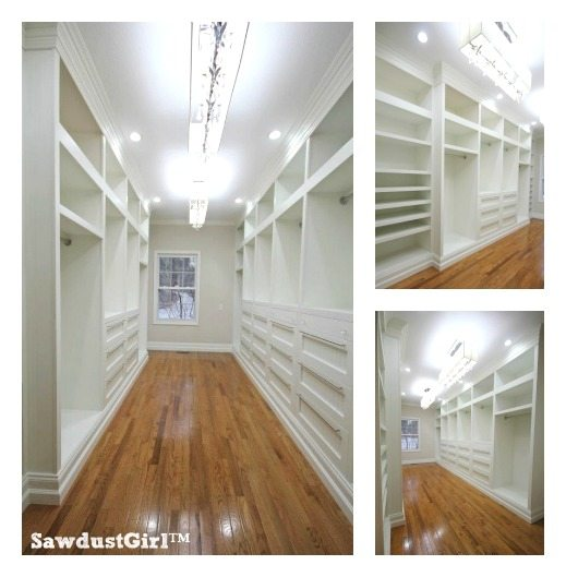 Master Closet Plans - Sawdust Girl®