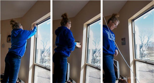 Winterize your home with window shrink film