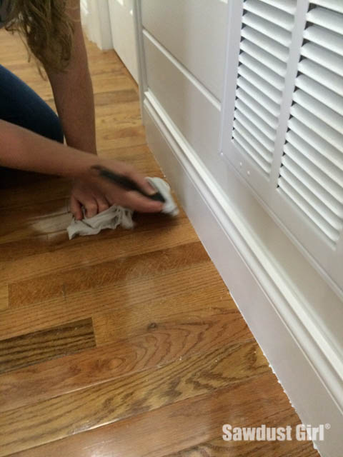 How To Get Paint Off Wood Floors