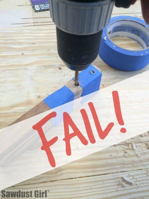 stain stick fail
