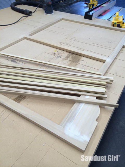 Faceframe cabinet construction