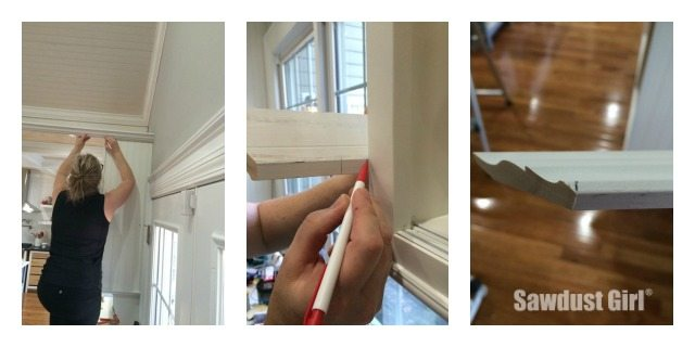 How to Install Crown Molding on Cabinets