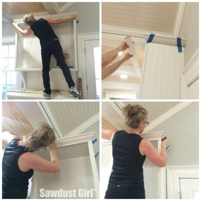 Installing Crown Molding On Kitchen Cabinets: How To Install Crown Molding On Cabinets