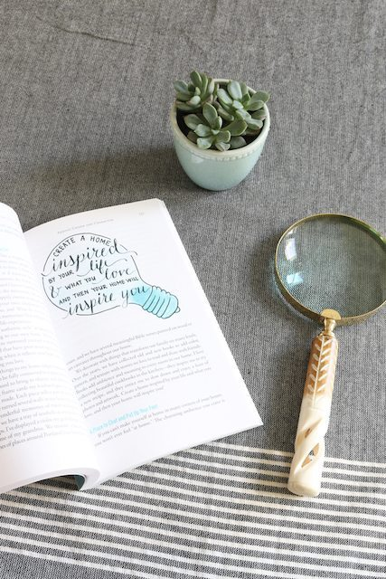 Love the Home You Have Book by Melissa of The Inspired Room Blog