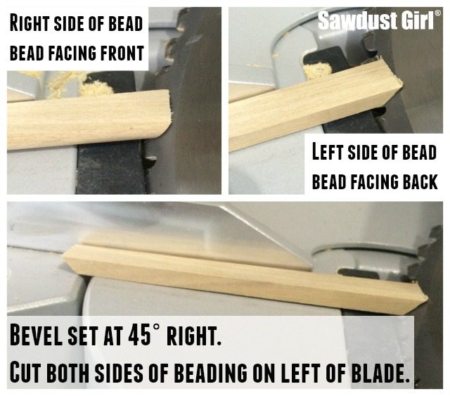 How to miter corners beading