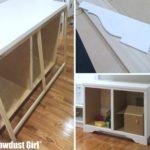 Adding a Cabinet Toe Kick