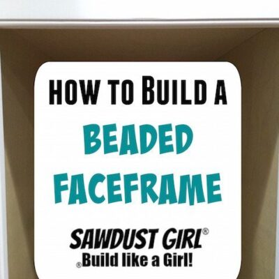 How to make a beaded face frame