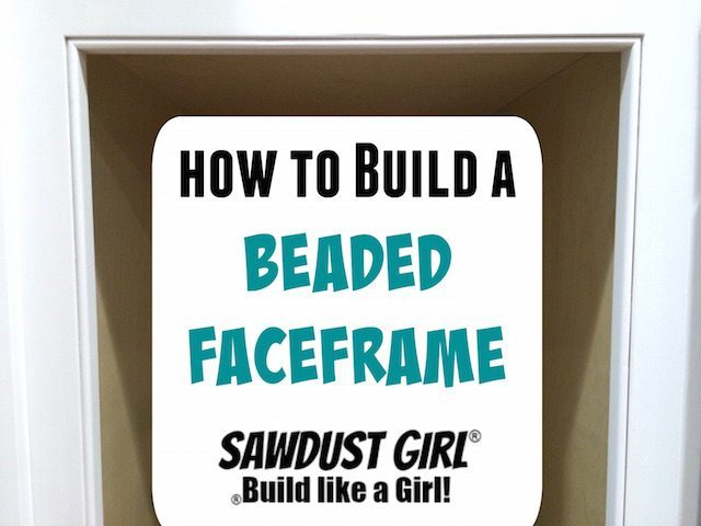 how to make a beaded face frame sawdust girl
