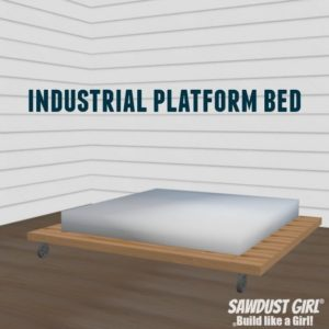 Industrial Platform Bed