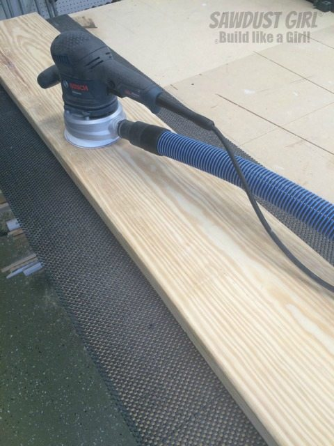 Use a Shelf Liner for Sanding - https://sawdustgirl.com.