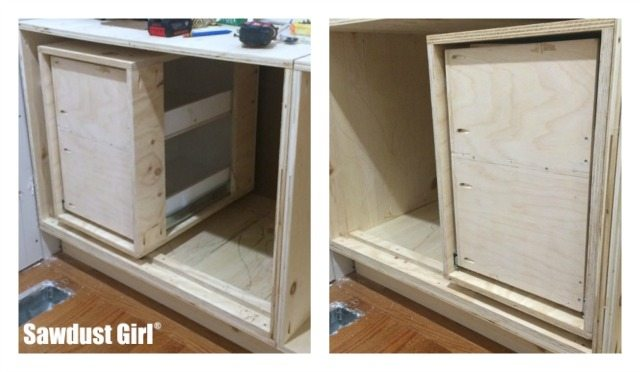 How To Build A Diy Corner Cabinet