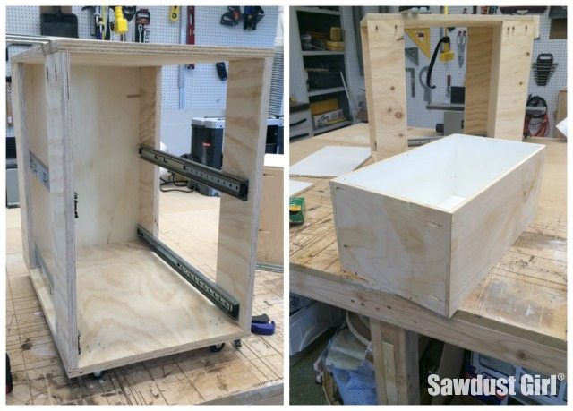 Build A Corner Cabinet With NO Wasted Space! Tutorial From  Https://sawdustgirl