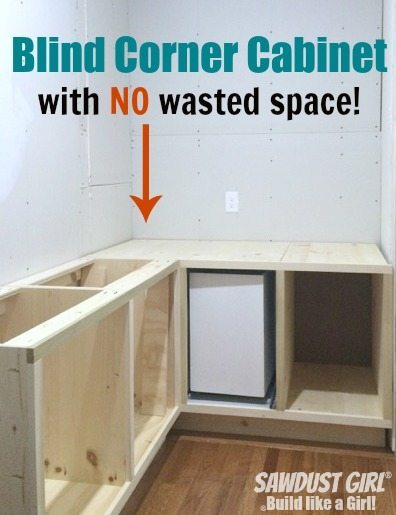 DIY Corner Cabinet With NO Wasted Space! Plan And Tutorial From Https://