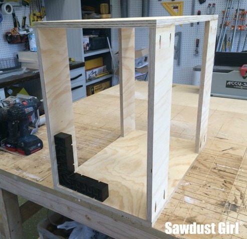 Build A Blind Corner Cabinet With NO Wasted Space! Tutorial From Https://