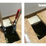How to patch subfloor