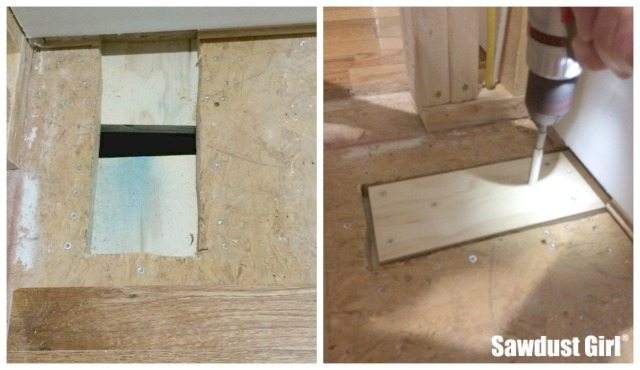 how to replace floorboards