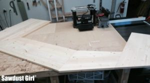 Building a Wood Countertop with mitered corners and angles