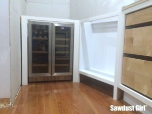 Built-in Wine and Beverage Refrigerator Cabinet