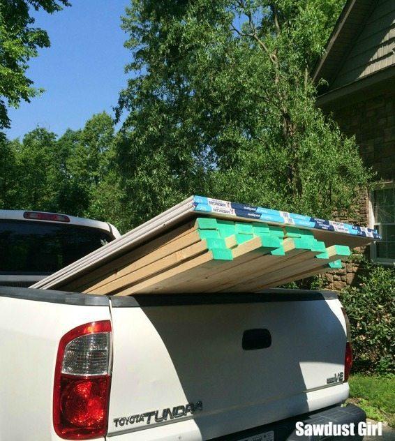 picking up materials