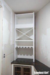 Installing a Wine Storage Cabinet -part 2