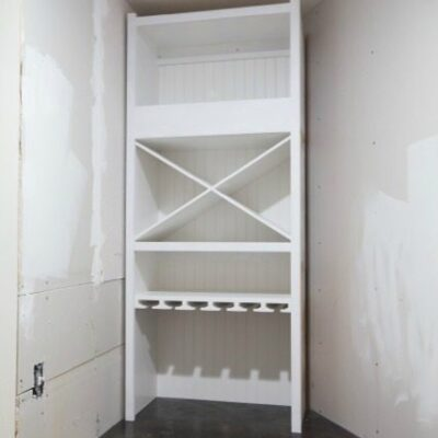 Installing a Wine Storage Cabinet -part 2