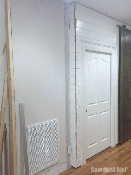 plank wall corners