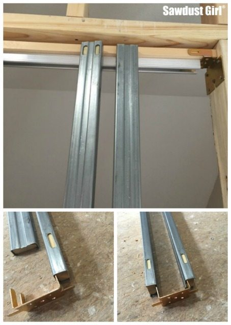 How to install a pocket door frame ~ https://sawdustgirl.com