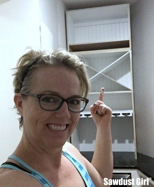 Wine storage cabinet - part 2.