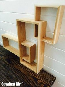 Three Tiered Display Shelf