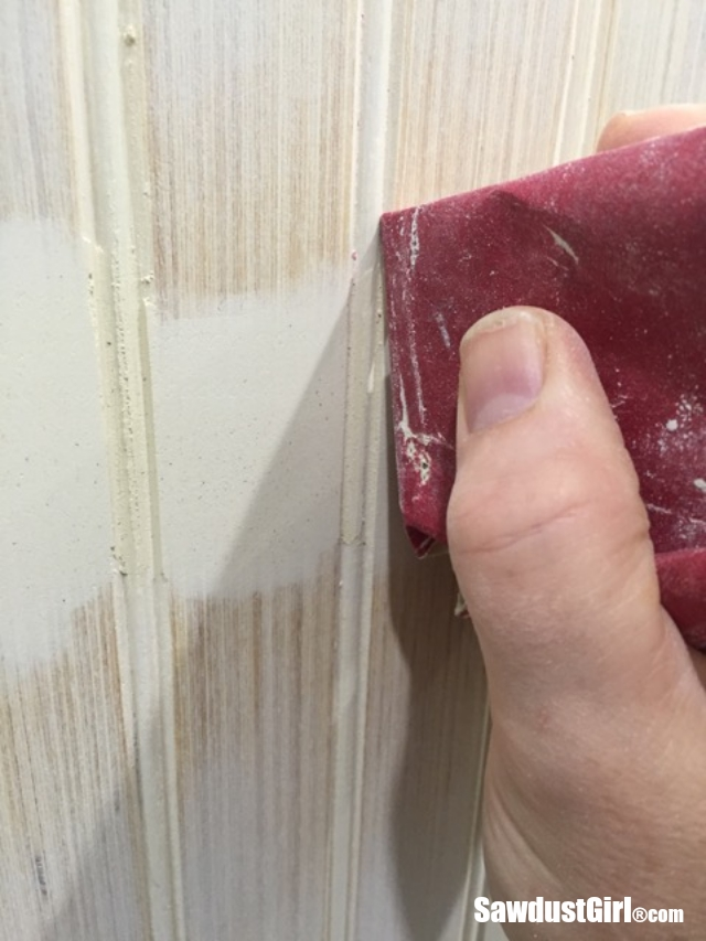 How To Hide Seams In Beadboard Sawdust Girl 174