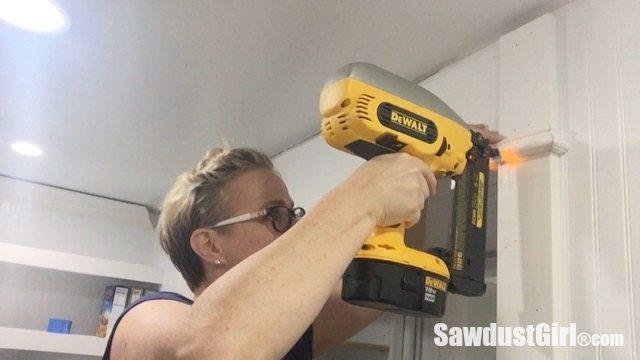 DIY Door Trim with Decorative Header