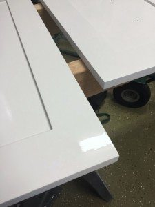 Cabinet Doors Prep and Painting