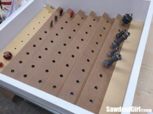 Router Bit Storage Drawer