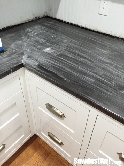 How Not To Refinish A Wood Countertop Sawdust Girl