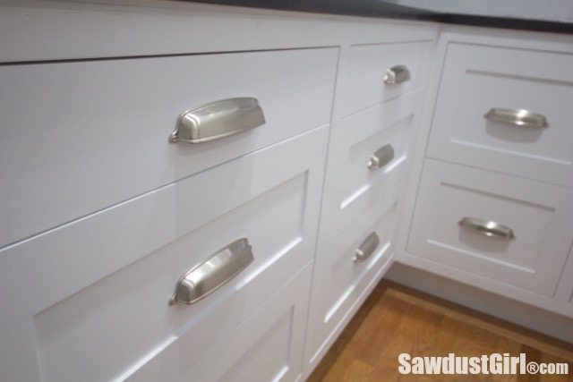 How to Install Cabinet Drawer Fronts Sawdust Girl