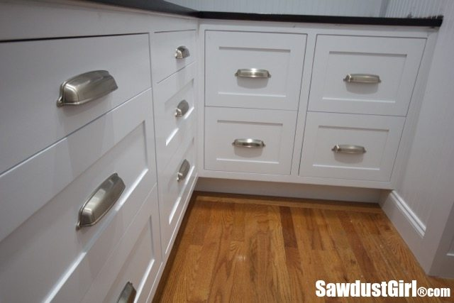 installing kitchen cabinet pulls how to install cabinet drawer fronts sawdust 174 17913