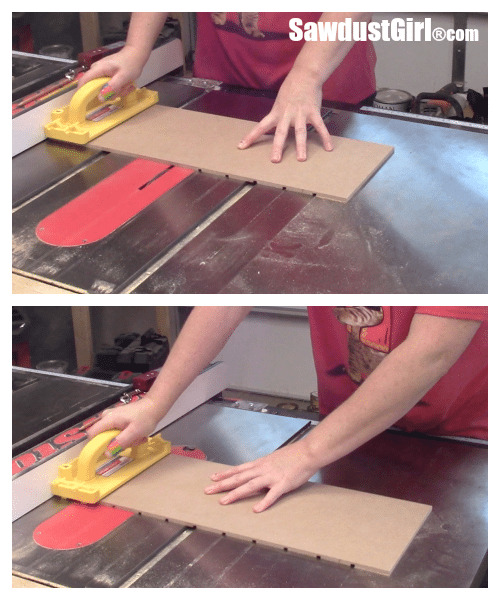 Cutting grooves for rawer divider organizers.