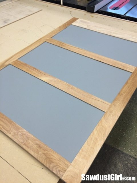 Easy DIY Sliding Doors for Cabinets - Sawdust Girl®