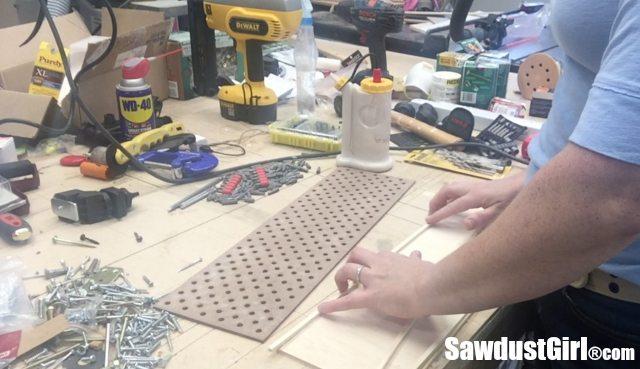 How to make a Sliding bit Storage Tray