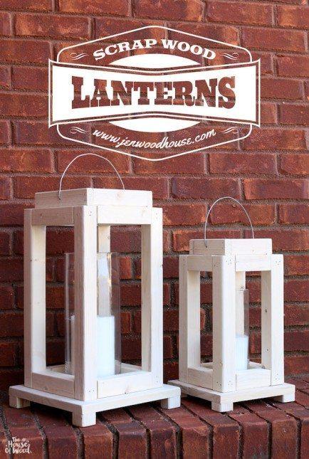 Scrap Wood Lanterns