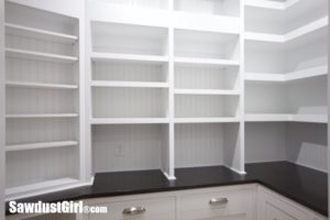 Walk-in Pantry Reveal
